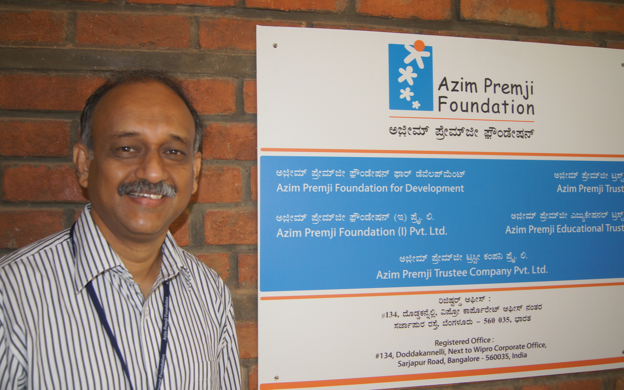 Sudheesh Venkatesh, Chief People Officer - Azim Premji Foundation